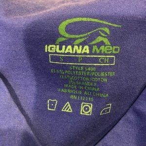 Iguana Med Women's Scrub Top #5106 Size Small